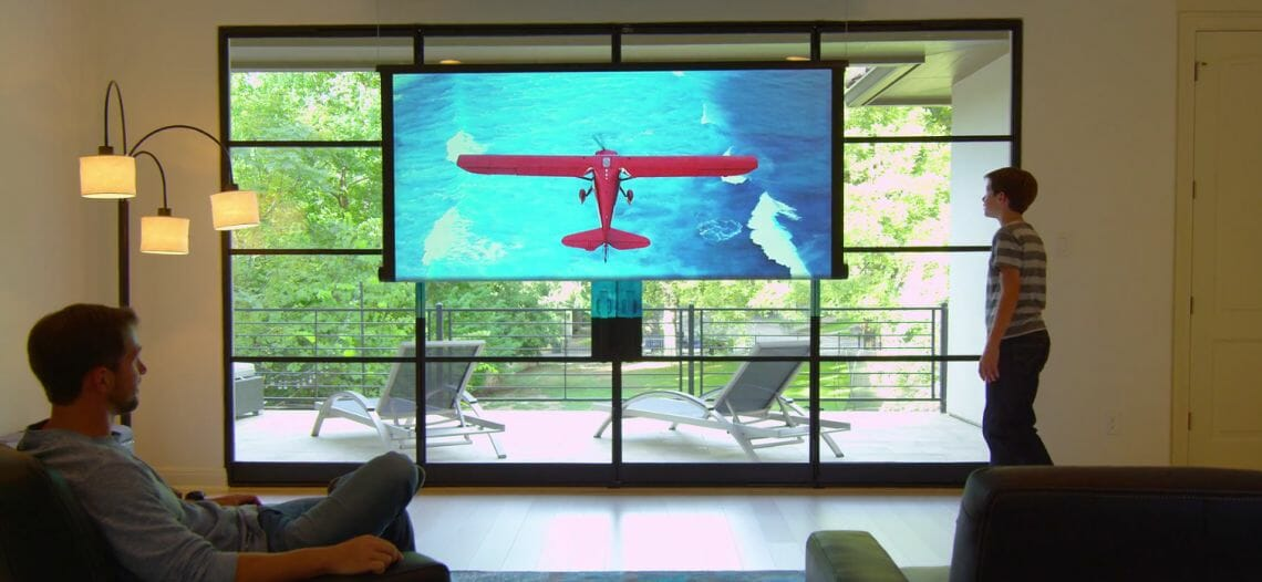 rollable tv Luxury Home: World's First Rollable Television - EAT LOVE SAVOR International Luxury Lifestyle Magazine