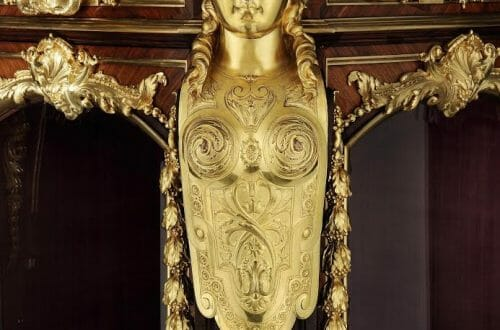 8563 Vienna Exhibition Cabinet by Gueret Freres close up Why Pick Me? 5 Reasons to Take Home an Antique - EAT LOVE SAVOR International luxury lifestyle magazine, bookazines & luxury community