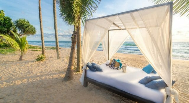 akyra phuket beach bed - eat love savor luxury lifestyle magazine