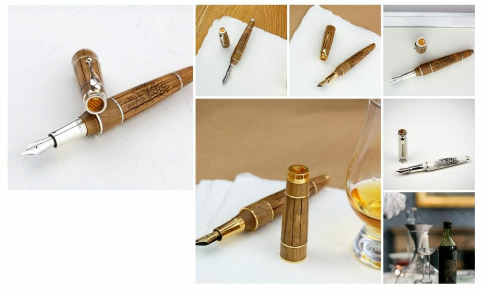 montegrappa cognac pen World's Oldest Cognac Enclosed in Limited Edition Montegrappa Fountain Pen - EAT LOVE SAVOR International luxury lifestyle magazine and bookazines
