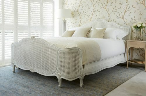 simon horn bed white Luxury Bed Trend: Big Headboards - EAT LOVE SAVOR International luxury lifestyle magazine and bookazines