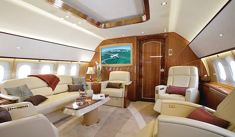 DreamMaker Whilst the guests feet are on the ground $13,875,000 Private Jet Trip Circumnavigating the Globe - EAT LOVE SAVOR International luxury lifestyle magazine, bookazines & luxury community