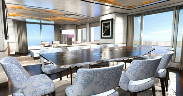 Dynamic yacht interior Dynamiq – The New Name In Superyachts From Monaco Starts A Revolution With Its Grand Touring Series - EAT LOVE SAVOR International luxury lifestyle magazine, bookazines & luxury community