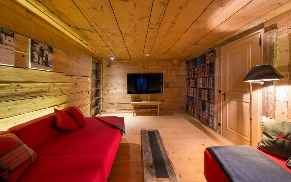 Luxury chalet Lech cinema room The 3 Best Alpine Ski Resorts for Families - EAT LOVE SAVOR International luxury lifestyle magazine and bookazines