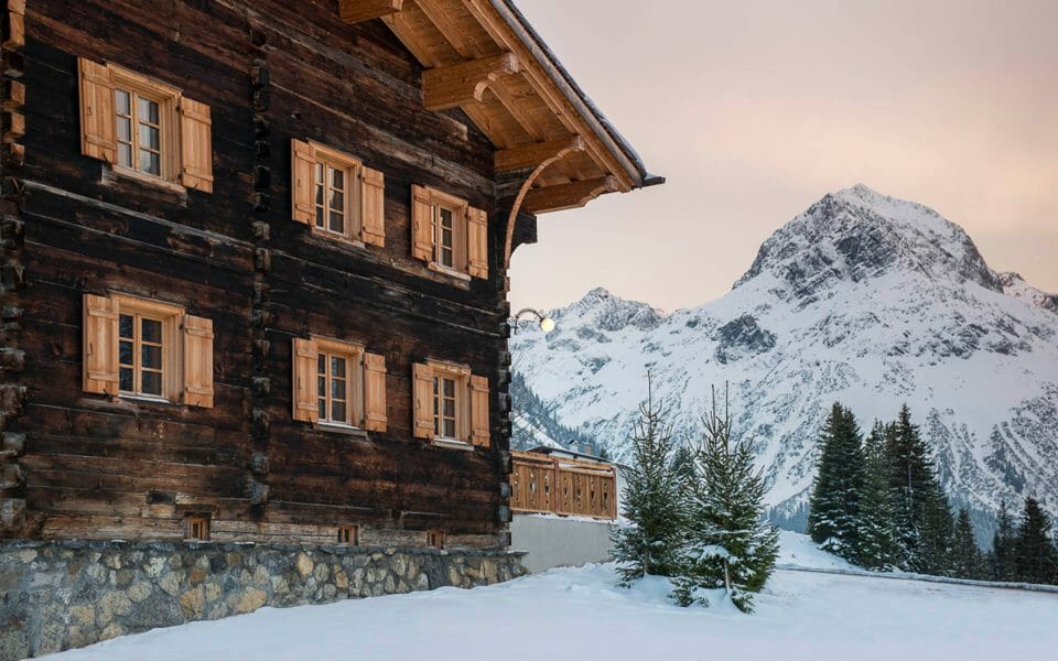 Luxury chalet Lech The 3 Best Alpine Ski Resorts for Families - EAT LOVE SAVOR International luxury lifestyle magazine and bookazines