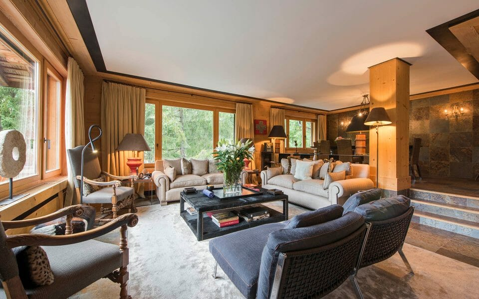 luxury chalet gstaad Aflabim Interior The 3 Best Alpine Ski Resorts for Families - EAT LOVE SAVOR International luxury lifestyle magazine and bookazines