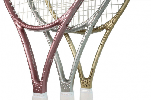 luxury tennis racquet Discover Bijou Limited Edition Luxury Tennis Racquets The Goddess Collection - EAT LOVE SAVOR International luxury lifestyle magazine and bookazines