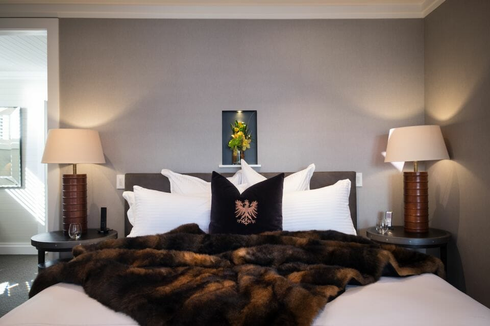 the penthouse Eichardts bedroom New Zealand's priciest penthouse to pull $10k per night and new class of traveller - EAT LOVE SAVOR International Luxury Lifestyle Magazine