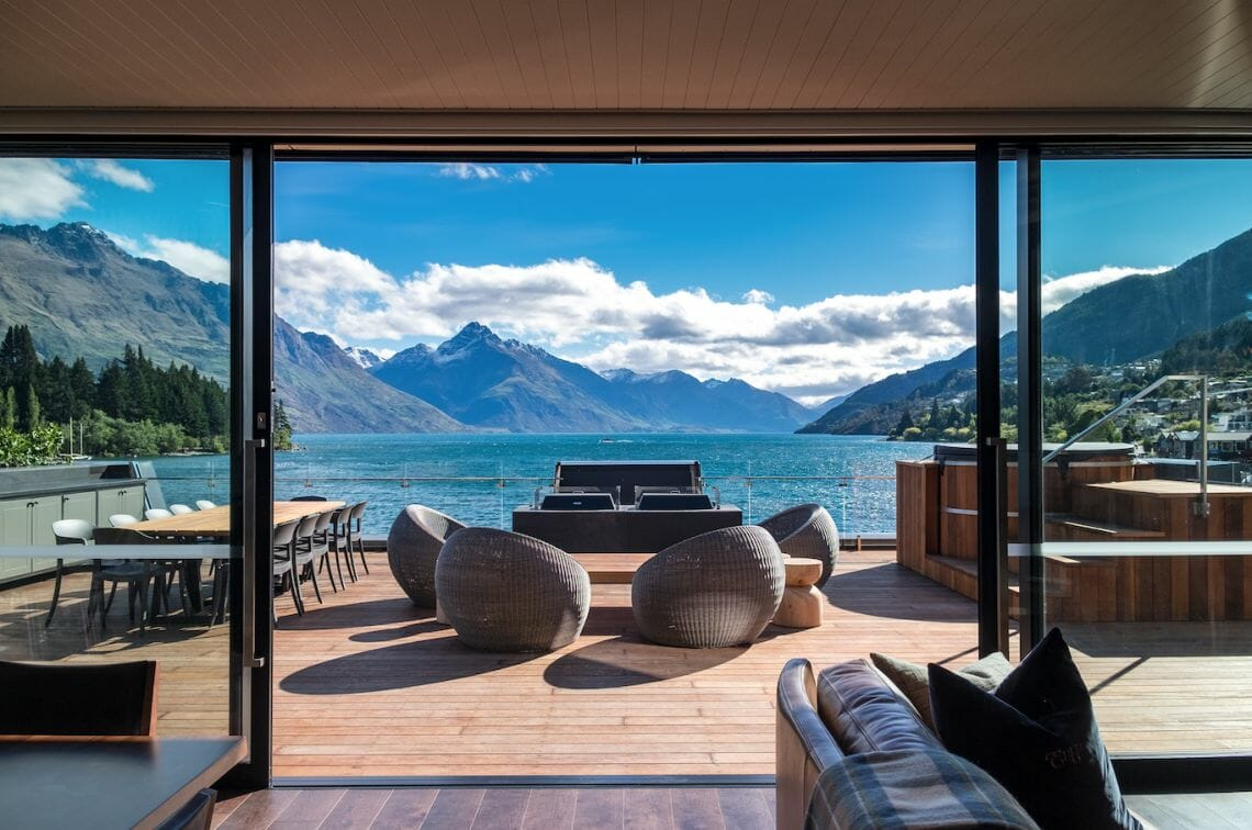 the penthouse eichardts deck and view New Zealand's priciest penthouse to pull $10k per night and new class of traveller - EAT LOVE SAVOR International Luxury Lifestyle Magazine