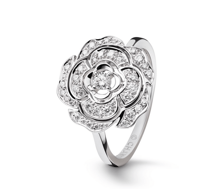 camelia ring chanel Chanel Bouton de Camélia Collection: Eternally Beautiful and Inspiring - EAT LOVE SAVOR International luxury lifestyle magazine, bookazines & luxury community