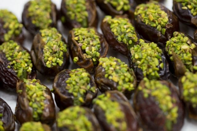 delice dates wiht pistachios Discover Luxury Confectioner 'Delice' and their Delectable Dates - EAT LOVE SAVOR International Luxury Lifestyle Magazine