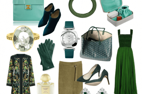 green color story and edit Editor Selects: Fresh and Elegant Seasonless Fashion Color Story of Greens - EAT LOVE SAVOR International luxury lifestyle magazine, bookazines & luxury community