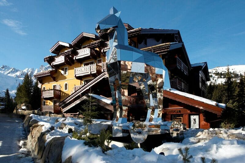 Cheval blanc hotel Fine Dining in the Mountains: The Best Tables in Courchevel - EAT LOVE SAVOR International Luxury Lifestyle Magazine