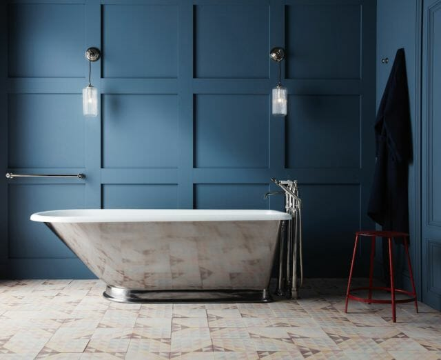 Drummonds Wandle bath with skirt Inspired by the Human Form and Victorian Age, The Wandle Bath by Martin Brudnizki for Drummonds - EAT LOVE SAVOR International Luxury Lifestyle Magazine