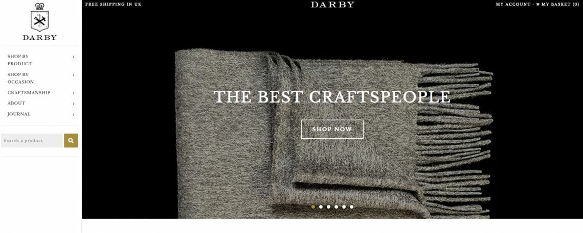 darby made website Introducing DarbyMade: Online Destination for Quality Gifts, Handmade In Britain - EAT LOVE SAVOR International luxury lifestyle magazine, bookazines & luxury community