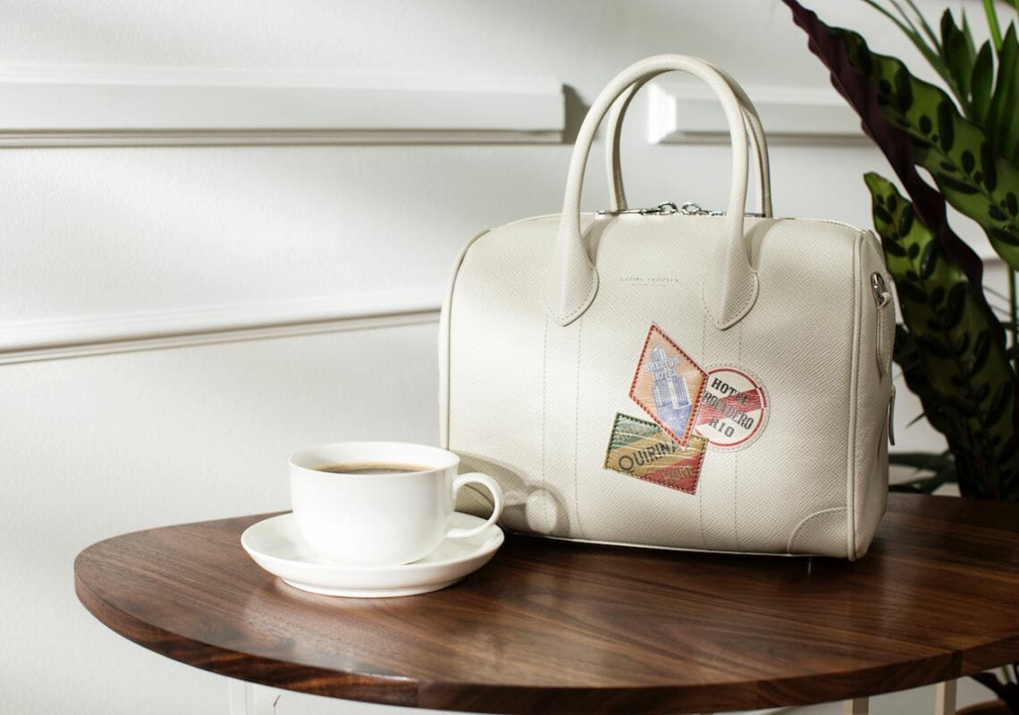 globe trotter ss17 handbag Globe-Trotter Special Suitcase in Archives Inspires SS 2017 Collection - EAT LOVE SAVOR International Luxury Lifestyle Magazine