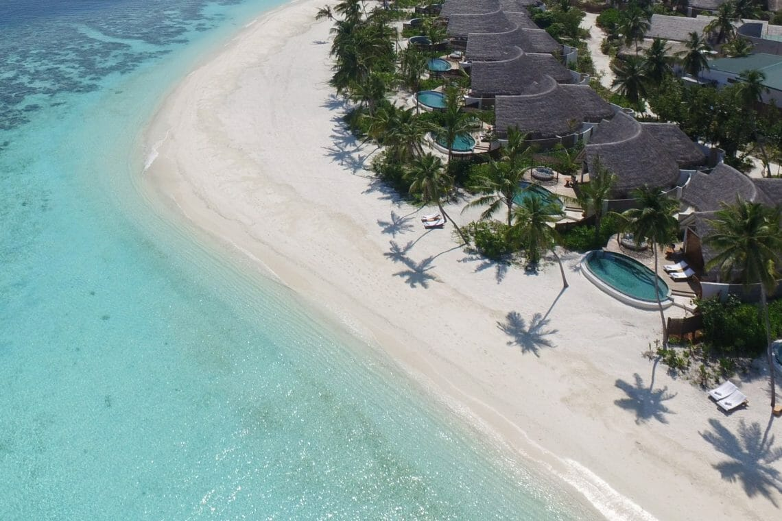 milaidhoo maldives aerial pictures 3 Milaidhoo Introduces Mood Dining to the Maldives - EAT LOVE SAVOR International Luxury Lifestyle Magazine