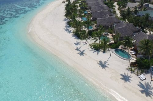 milaidhoo maldives aerial pictures 3 Milaidhoo Introduces Mood Dining to the Maldives - EAT LOVE SAVOR International luxury lifestyle magazine, bookazines & luxury community