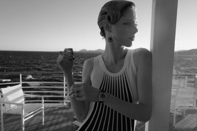 Coco Rocha Filmmakers dinner Finch Partners and Jaeger LeCoultre. Antibes credit Greg Williams Jaeger-LeCoultre and Finch & Partners host the 9th Annual Filmmakers Dinner and Award - EAT LOVE SAVOR International luxury lifestyle magazine, bookazines & luxury community