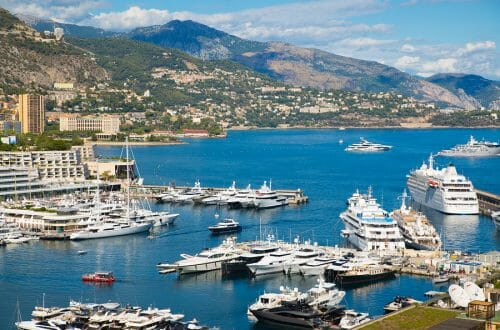 Monaco seaport Yachting in Monaco, Going Green - EAT LOVE SAVOR International luxury lifestyle magazine, bookazines & luxury community