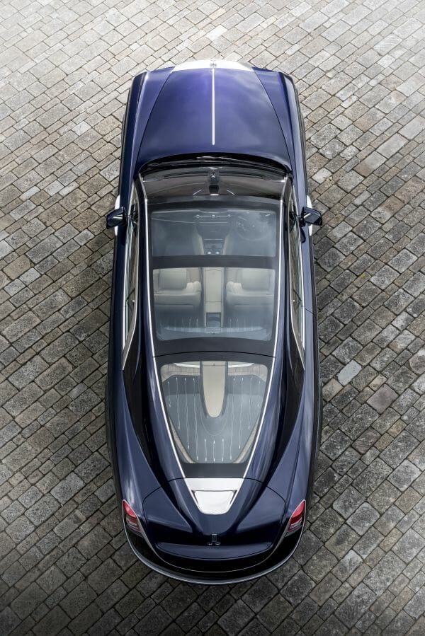 P90261368 lowRes rolls royce sweptail Rolls-Royce 'Sweptail' Customization of One Customer's Coachbuilt Dream - EAT LOVE SAVOR International luxury lifestyle magazine, bookazines & luxury community