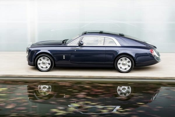 P90261371 lowRes rolls royce sweptail Rolls-Royce 'Sweptail' Customization of One Customer's Coachbuilt Dream - EAT LOVE SAVOR International luxury lifestyle magazine, bookazines & luxury community