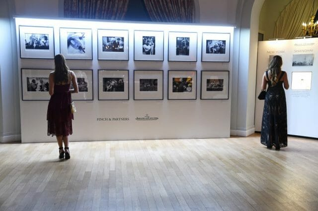 The Art of Behind the Scenes Exhibition Finch Partners and Jaeger LeCoultre.Antibes credit Getty Images Jaeger-LeCoultre and Finch & Partners host the 9th Annual Filmmakers Dinner and Award - EAT LOVE SAVOR International luxury lifestyle magazine, bookazines & luxury community