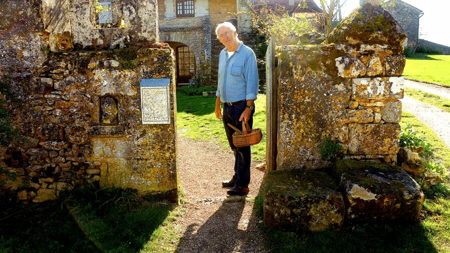 Edouard and ancient farmhouse Truffle Hunting On The Périgord: The Quest For The Black Diamonds Of Cuisine - EAT LOVE SAVOR International luxury lifestyle magazine and bookazines
