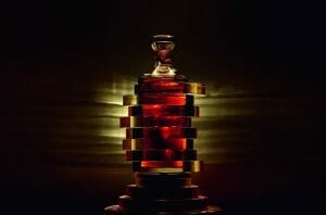 Hennessy 8 Bottle by Arik Levy All bow for the SuperYacht Gallery at Saatchi London - EAT LOVE SAVOR International luxury lifestyle magazine, bookazines & luxury community