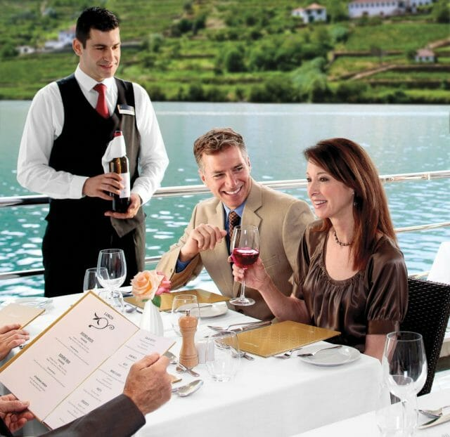 Al Fresco dining AMA Waterways Distilling the Essence: The AmaWaterways Wine-Themed Cruise - EAT LOVE SAVOR International luxury lifestyle magazine, bookazines & luxury community