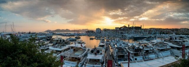 cannes yachting festival Panorama LR Cannes Yachting Festival celebrates 40th Anniversary - EAT LOVE SAVOR International luxury lifestyle magazine and bookazines