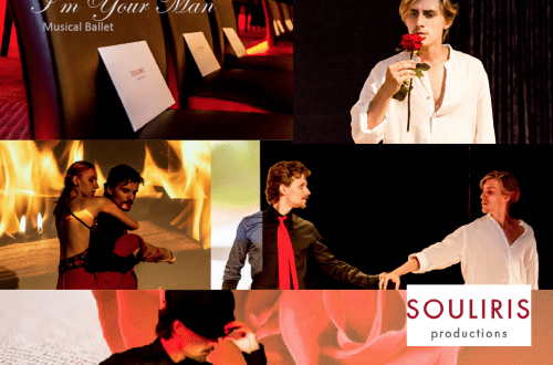 im your man performance collage Gourmet Ballet 'I'm Your Man' from Gstaad to New York - EAT LOVE SAVOR International luxury lifestyle magazine, bookazines & luxury community