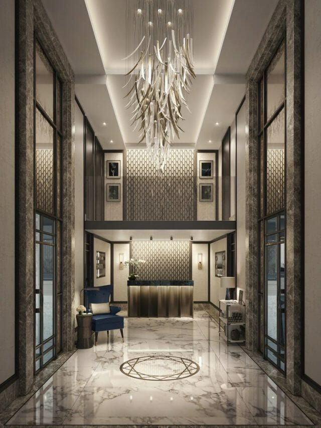 39 Entrance Hall Discover Thirty Nine Monte Carlo, a Wellness Focused Private Members' Club in the Heart of Monaco - EAT LOVE SAVOR International Luxury Lifestyle Magazine