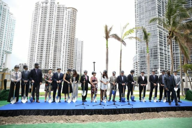 IMG 6627 Luxury residential development Aston Martin Residences breaks ground in Miami - EAT LOVE SAVOR International luxury lifestyle magazine and bookazines