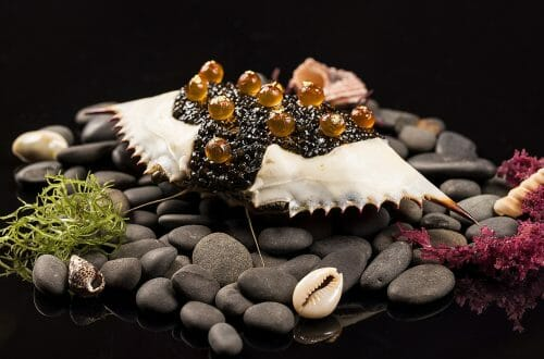 Le Crabe et Caviar spring 2015 copy The Multi Sensory Edible Landscape, New Dimensions in Luxury Cuisine - EAT LOVE SAVOR International luxury lifestyle magazine, bookazines & luxury community