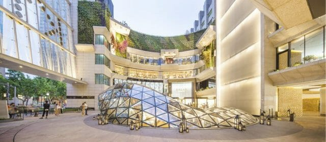 SHanghai exterior K11 Art Mall art by Sui Jianguo Butterflies Disruption, Innovation and Fusion: An Interview With Adrian Cheng - EAT LOVE SAVOR International luxury lifestyle magazine and bookazines