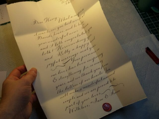 SAM 3242 British Butler to Duke Turned Calligrapher Revives Beautiful Letters Crafted in the Regency Style - EAT LOVE SAVOR International Luxury Lifestyle Magazine