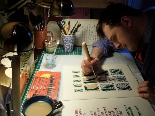 SAM 3285 British Butler to Duke Turned Calligrapher Revives Beautiful Letters Crafted in the Regency Style - EAT LOVE SAVOR International Luxury Lifestyle Magazine