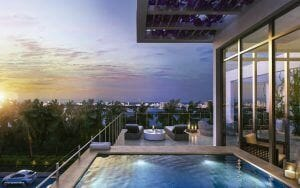 gran paraiso view terrace Luxury Living in Florida: 5 Property Listings for Luxe Beach Lifestyle - EAT LOVE SAVOR International Luxury Lifestyle Magazine