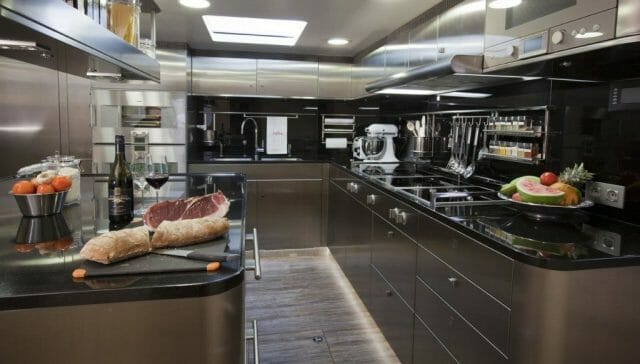 superyacht galley The MYBA Chefs' Competition: Q&A with the Organisers - EAT LOVE SAVOR International Luxury Lifestyle Magazine