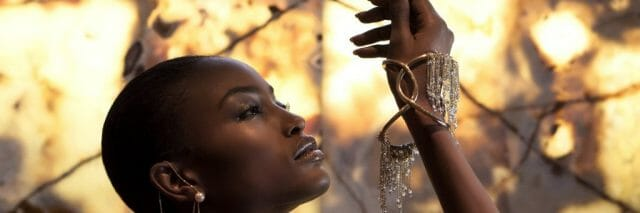 Eden Diodati Copy of African Toga Earrings Delta Rain Cuff 1 Women in Luxury: Q & A With Jennifer Ewah, Eden Diodati: Challenging Preconceptions of 'Made in Africa' - EAT LOVE SAVOR International luxury lifestyle magazine and bookazines
