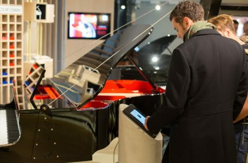 harrods create your own piano MG14104 Harrods Becomes Only Store In The World To Offer Fully Customisable Pianos - EAT LOVE SAVOR International luxury lifestyle magazine, bookazines & luxury community