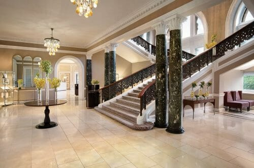 Waldorf Astoria Edinburg lobbyareaorig01 Local Artisans Hired to Renovate Edinburgh's Great Railway Hotel Waldorf Astoria Edinburgh - The Caledonian - EAT LOVE SAVOR International luxury lifestyle magazine, bookazines & luxury community