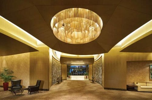 085 lobby fairmont An Homage to Culture With A Cinematic Flow: The Baku Flame Towers In Azerbaijan - EAT LOVE SAVOR International luxury lifestyle magazine and bookazines