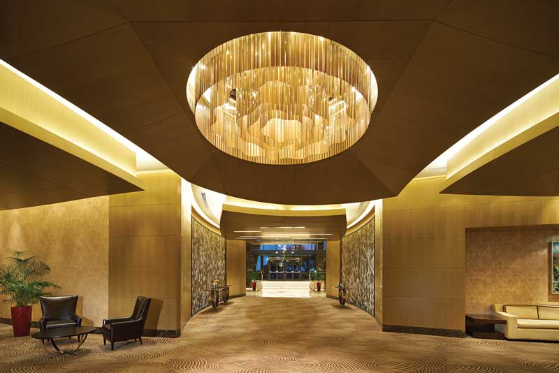 085 lobby fairmont An Homage to Culture With A Cinematic Flow: The Baku Flame Towers In Azerbaijan - EAT LOVE SAVOR International luxury lifestyle magazine, bookazines & luxury community