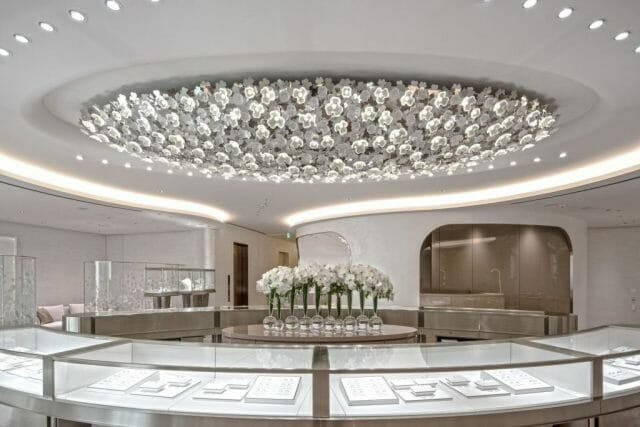 Mikimoto Cloud of Clovers 1 preview LALIQUE Interior Design Studio Bespoke Luxury Architectural Projects in Tokyo and Paris - EAT LOVE SAVOR International Luxury Lifestyle Magazine