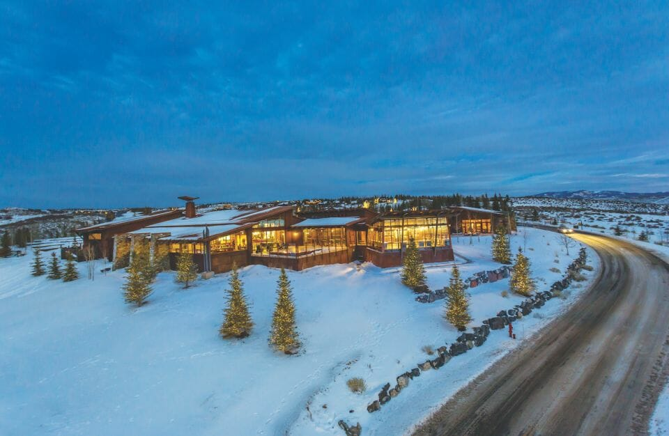 The Promontory Club shed clubhouse Nature, Nurture, Legacy, and Elks: The Promontory Club Luxury Experience Park City, Utah - EAT LOVE SAVOR International luxury lifestyle magazine and bookazines