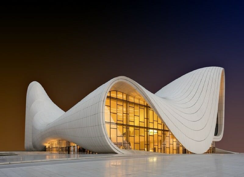 boca do lobo Heydar Aliyev Center Modern Architecture: Impressive Buildings That Challenge Gravity - EAT LOVE SAVOR International luxury lifestyle magazine and bookazines