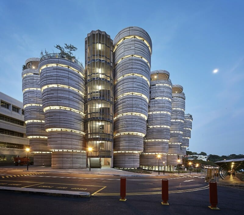 boco do lobo Learning Hub at the Nanyang Technological University Modern Architecture: Impressive Buildings That Challenge Gravity - EAT LOVE SAVOR International luxury lifestyle magazine and bookazines