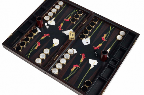 lily blackgammon set British Made Bespoke Backgammon Set - Lily - EAT LOVE SAVOR International luxury lifestyle magazine and bookazines